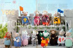 Craft Patterns, Knitting Patterns, Alan Dart, Modern Toys, Stuffed Toys Patterns, Medieval, Cross Stitch, Christmas Ornaments, Sewing