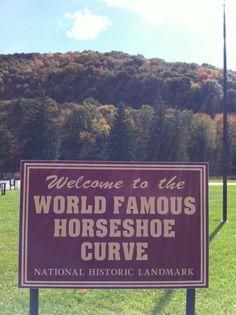 Horseshoe Curve - Altoona, PA - October 2012