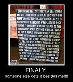 Rocks Paper Scissors