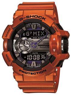 CASIO G-SHOCK G-MIX | GBA-400-4BER