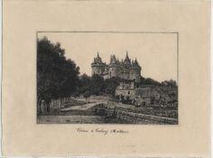 Château de Combourg (Ille-et-Vilaine) / Albert Cardine. 1909.