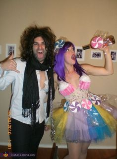 Katy Perry and Russell Brand Halloween Costumes