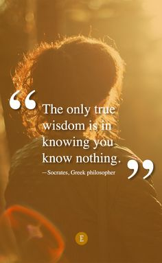 Always be learning. Quote by Socrates