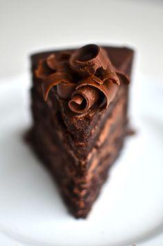 Fudge Mountain Cake | Yammie's Noshery