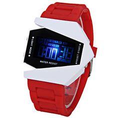 Hombre Reloj Deportivo / Reloj de Pulsera Digital LED / LCD / Calendario…