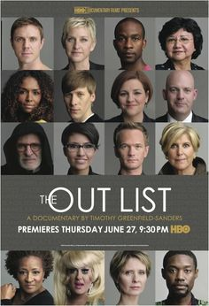 "From ""Outrage"" to ""Out List"" ! Sweetener: DOMA Section 3 ruled Unconstitutional (06.26.2013) the day before ""Out List's release !"