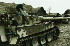Tiger I (early); Russia 1943, sPz.Abt. 502