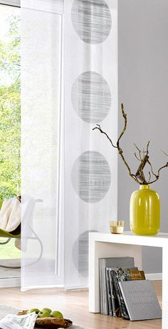 Schiebegardinen für stilvolle Lichteffekte bei bonprix Curtains With Blinds, Sheer Curtains, Shades Blinds, Stores, Cool Stuff, Home Decor, Houses, Architects, Yurts