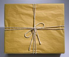 Conserve Your Use of Holiday Wrappings | By: Samantha Frapart December 17, 2010 | Reduce Your Carbon Footprint - Use Less Wrapping #GreenBlizzard
