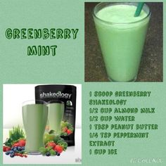 Day 25 ~ Greenberry Mint Shakeology