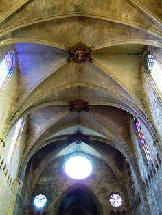 """Catedral Gerona"" Girona ""Gótico mediterráneo"""