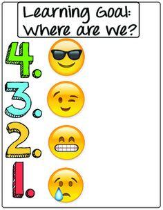 Self Assessment Emojis Poster