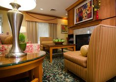 Our lobby has a nice, home style atmosphere Fairfield Inn, Guest Room, Nice, House Styles, Modern, Trendy Tree, Nice France, Guest Rooms, Spare Room