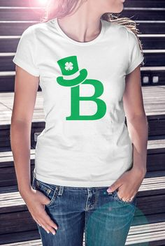 St. Patricks Day T Shirts. Choose your initial at no extra cost!  St. Patricks Day T Shirts Are Here! Do you have yours yet? Going to an Irish Pub on