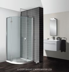Browse our great range of Shower Enclosures at our web store. Shop online for Simpsons Design Semi-Frameless Quadrant Single Hinged Door. Bathroom Showrooms, Large Bathrooms, Shower Enclosure, Single Doors, Bathtub, Diy Projects, Mirror, Furniture, Belfast