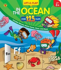 In the Ocean Pop-Up Book - Carson Dellosa Publishing Education Supplies
