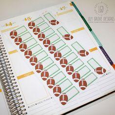 Football, Hawk Schedule.