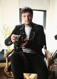 """Josh Hutcherson in New York City for Canons Project Imagination"""