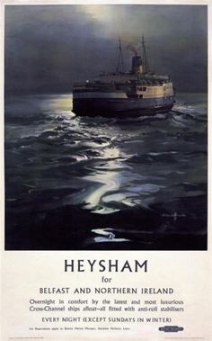 HEYSHAM FOR BELFAST AND NORTHERN IRELAND BRITISH RAILWAY.17
