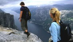 Blick über den Lysefjord vom Kjerag, Norwegen - Foto: Terje Rakke/nordic Life/Fjord Norway