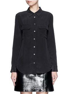 EQUIPMENT'Slim Signature' silk shirt