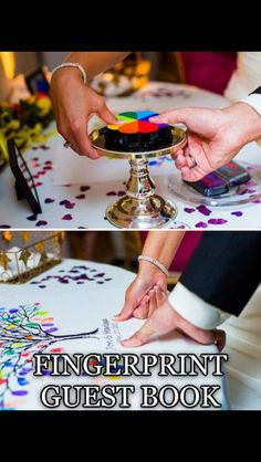 i will have this beautiful idea at my wedding to go with my colour theme and it will be framed