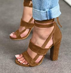 The crushing on you strappy heel - Stilettos, Pumps Heels, Stiletto Heels, Gorgeous Heels, Cute Heels, Prom Heels, Fashion Heels, Womens High Heels, Me Too Shoes