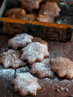 Vegan and Gluten Free Lebkuchen (german gingerbread & vegan chocolate mousse | Natural Kitchen Adventures & Supergolden Bakes