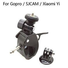 Gopro Accessories Bike Bicycle Motorcycle Handlebar Handle Bar Camera Mount Tripod Adapter For Gopro Hero4 3. Click visit to buy #tripod