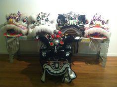 Our lion heads. #Liondance #liondancing #lion #chinese #Martialarts #kungfu #chineseliondance #chinesenewyear