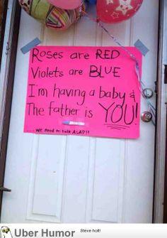 Aww, now isn't that sweet?!  LOL