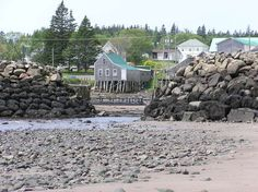 Seal Cove, low tide, Grand Manan Island, New Brunswick. Canada North, Canada Eh, Amazing Places, Wonderful Places, Places Ive Been, Places To Visit, New Brunswick Canada, Discover Canada, Atlantic Canada