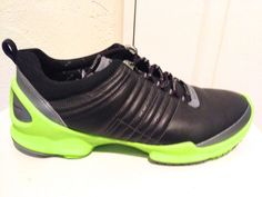 Ecco Biom Trainer 1.1 Men's Running Shoes, DS, NIB, Sz. 43 (9-9.5), Black/Volt #Ecco #RunningCrossTraining