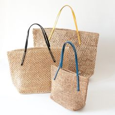 サンアルシデ(Sans Arcidet)カゴバッグ BEBY BAGのXS・SMALL・LARGEサイズ。近日中に公開します。もうしばらくお待ち下さいね。(2015.4.22現在)  #sansarcidet #サンアルシデ #かごバッグ #BEBYBAG #ラフィア #トートバッグ #tasutasu