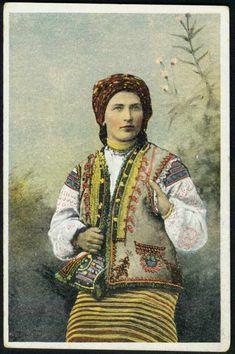 Гуцулка1917Суспільне надбання (Public Domain) невідомий - тут Гуцульщина  Гуцули: Гуцули