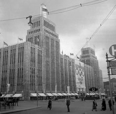 Karstadt am Hermannplatz im August 1936