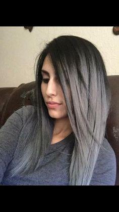 silver grey hair with wella toner