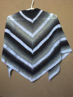 chusta, shawl, Aade Long 8/1, Midara Roma, knitting, druty, handmade by Kassy