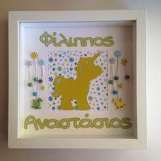 Διακοσμητικό κάδρο - Μονόκερος Frame, Home Decor, Picture Frame, Decoration Home, Room Decor, Frames, Interior Design, Home Interiors, Hoop