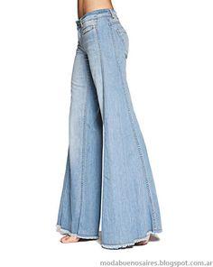 Wanna make this Jeans Denim, Old Jeans, Jeans Pants, Trousers, Denim Fashion, Fashion Pants, Boho Fashion, Fashion Outfits, Ropa Upcycling