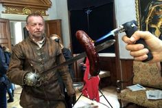 Behind the scenes production photos of series II of The Musketeers. From Czech Anglo Productions.