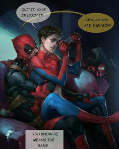 Is it that I ship spideypool?