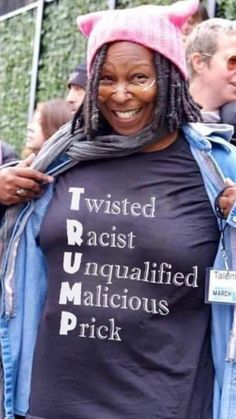 The truth 💫💜💫 Whoopi Goldberg, We The People, Feminism, Memes, Donald Trump, Presidents, Shit Happens, Truths, Quotes