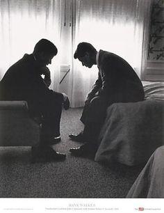 Brothers John & Bobby Kennedy