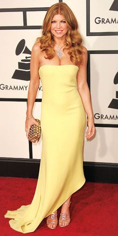 Relive+the+Top+Grammy Gowns+of+All+Time+-+Fergie,+2008 +-+from+InStyle.com