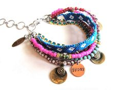 bracelet hippie chic. i love this! I WANT THIS!