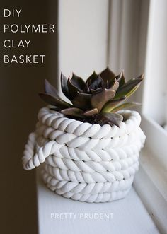 The Beginner's Guide to Crafting with Clay: Polymer Clay Baskets