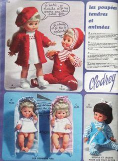 GALARIES LAFAYETTE 1969. J'ai eu celle qui marche...avec un manteau et un chapeau turquoise !!!