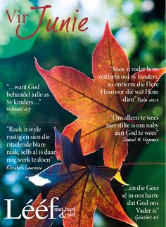 Autum/Herfs Psalm 105, Psalms, Days And Months, Months In A Year, Inspiration For The Day, Afrikaanse Quotes, Soul Surfer, Weather Seasons, Day Planners