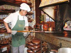 Botin.  World's oldest restaurant, located in Madrid.